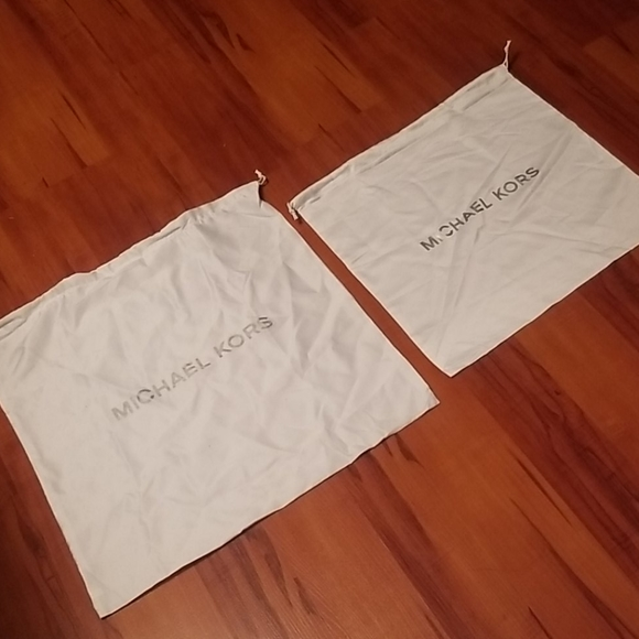 Two Michael Kors Dust Bag